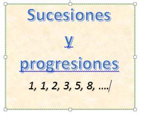 Sucesiones y progresiones