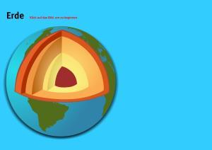 Erde. Welt-Quiz Geographie