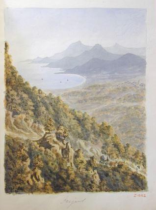 Vista de Frejus (Francia)