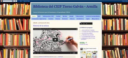 Biblioteca del CEIP Tierno Galván