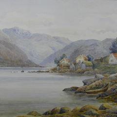 Vista de Balholm (Noruega)