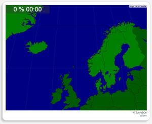 Scandinavie : les pays. Seterra