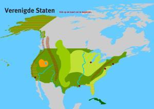 Verenigde Staten GL/TL. Topo VMBO