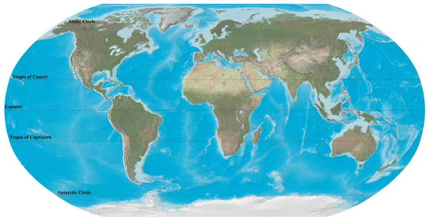 Oceans and seas of the world. Ilike2learn