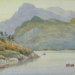 Vista de Jondal, Hardanger (Noruega)