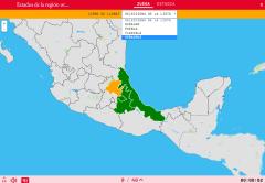 Estats de la regió est de Mèxic