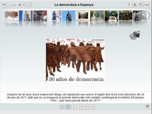 La democràcia a Espanya