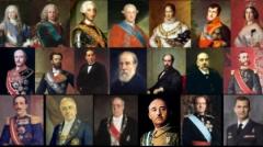 Jefes de estado de España