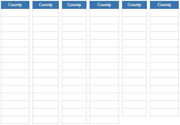 Counties of Ohio  (JetPunk)