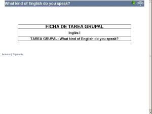 What kind of English do you speak?