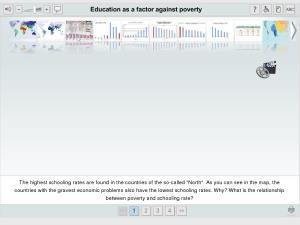 Education as a factor against poverty