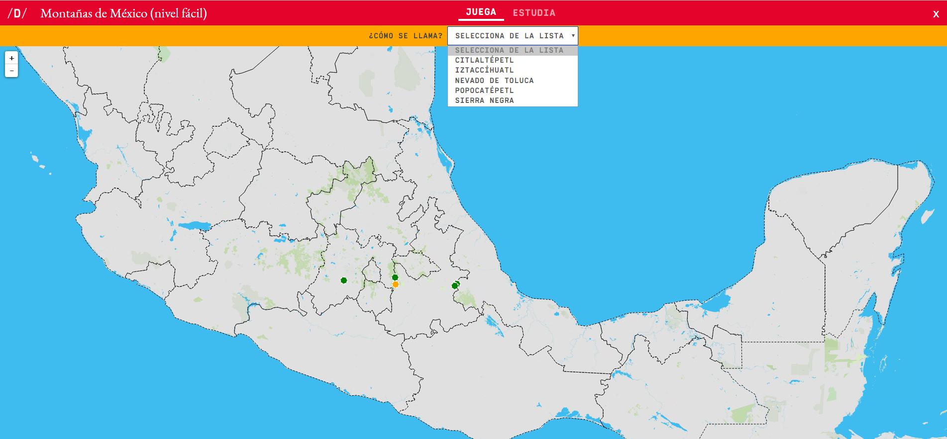 Montañas de México (nivel doado)