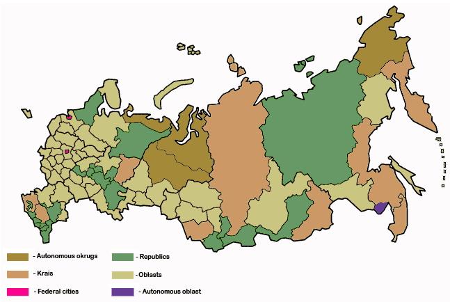 Republics of Russia. Lizard Point