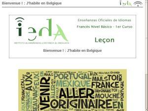 Bienvenue ! : J'habite en Belgique