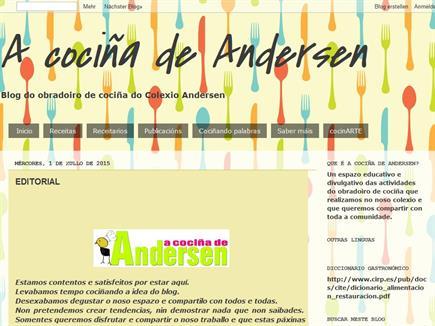 A COCIÑA DE ANDERSEN