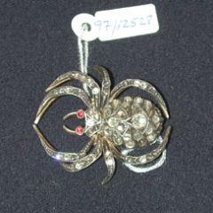 Broche en forma de araña