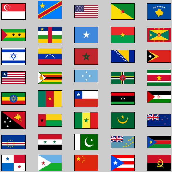 Image result for flags with stars