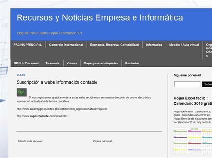 Recursos y noticias Empresa e Informática