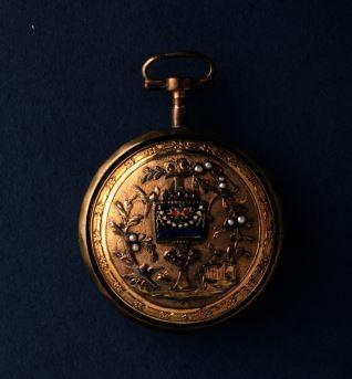 Caja para reloj de bolsillo