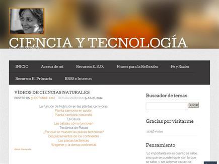 Ciencia y Tecnología. Un mundo por descubrir...