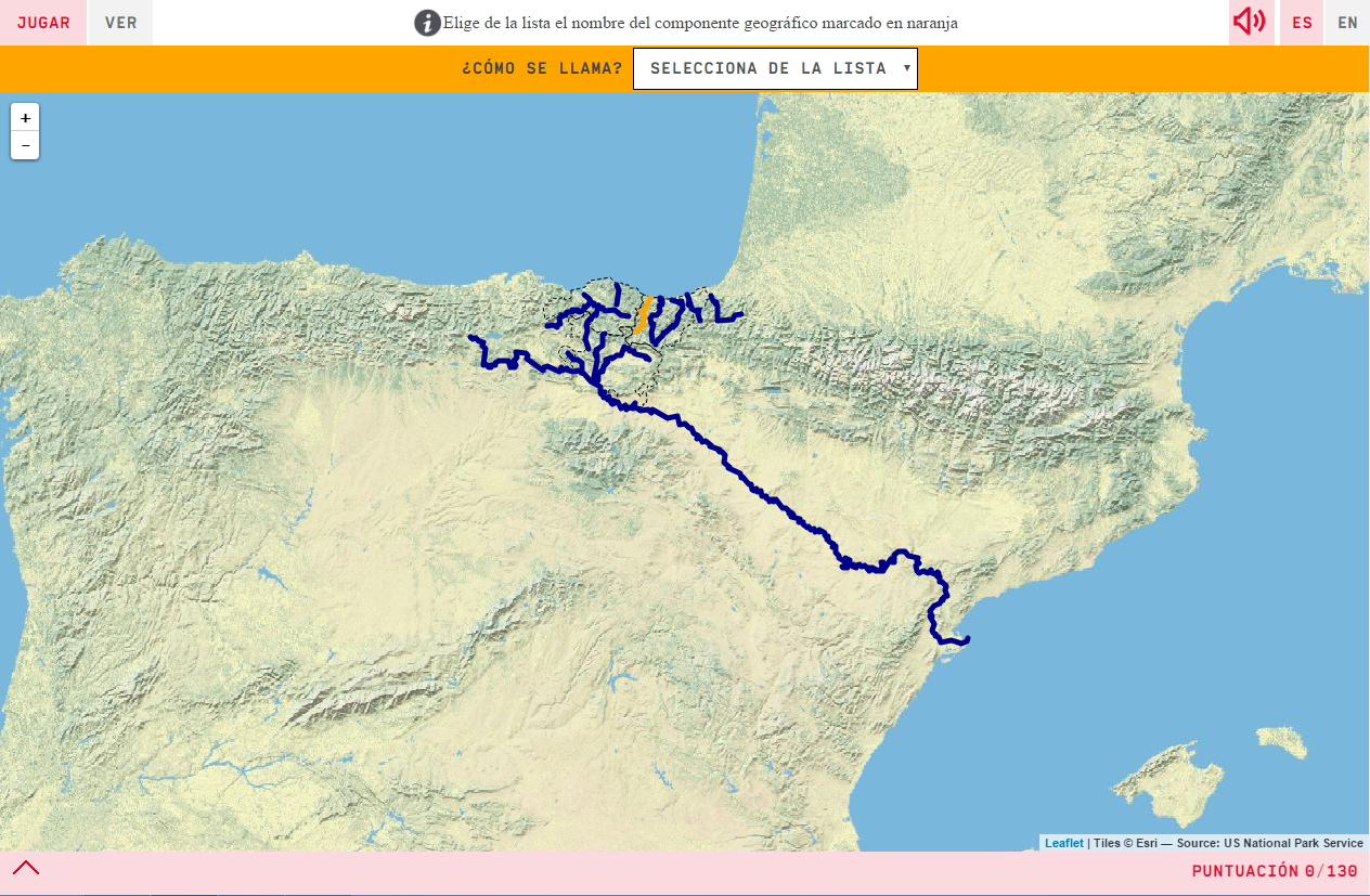 Die Flüsse in Baskenland