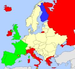 Europe map  (JetPunk)