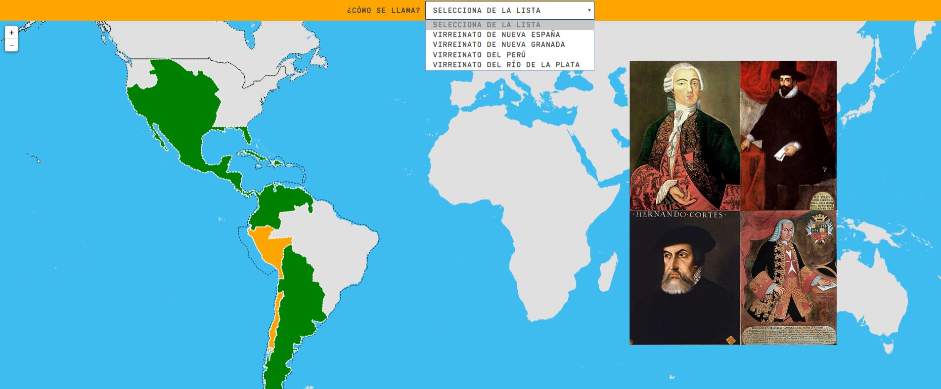 América española hacia 1800