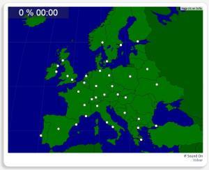 Europe : les villes. Seterra