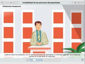 Invisibilidad de las personas discapacitadas
