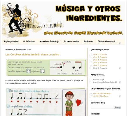 Música y otros ingredientes