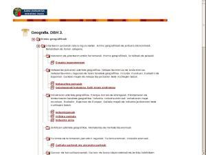 Geografia 3. DBH