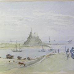 Castillo de Lindisfarne (Inglaterra)