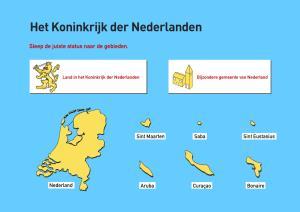 Het Koninkrijk der Nederlanden. Topografie van Nederland