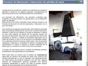 Procesos de fabricación: Fabricación sin pérdida de masa