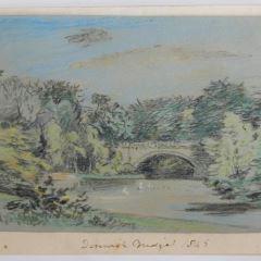 Puente en Denwick, Inglaterra