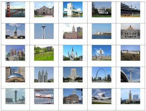 Landmarks of the United States. Sporcle