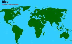 Ríos del Mundo. Juegos de Geografía