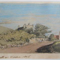 Vista de Wooler, Northumberland (Inglaterra)