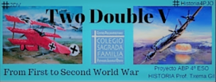 "Proyecto ABP ""Two Double U -from first to second world war-"""