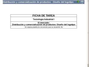 Distribución y comercialización de productos - Diseño del logotipo