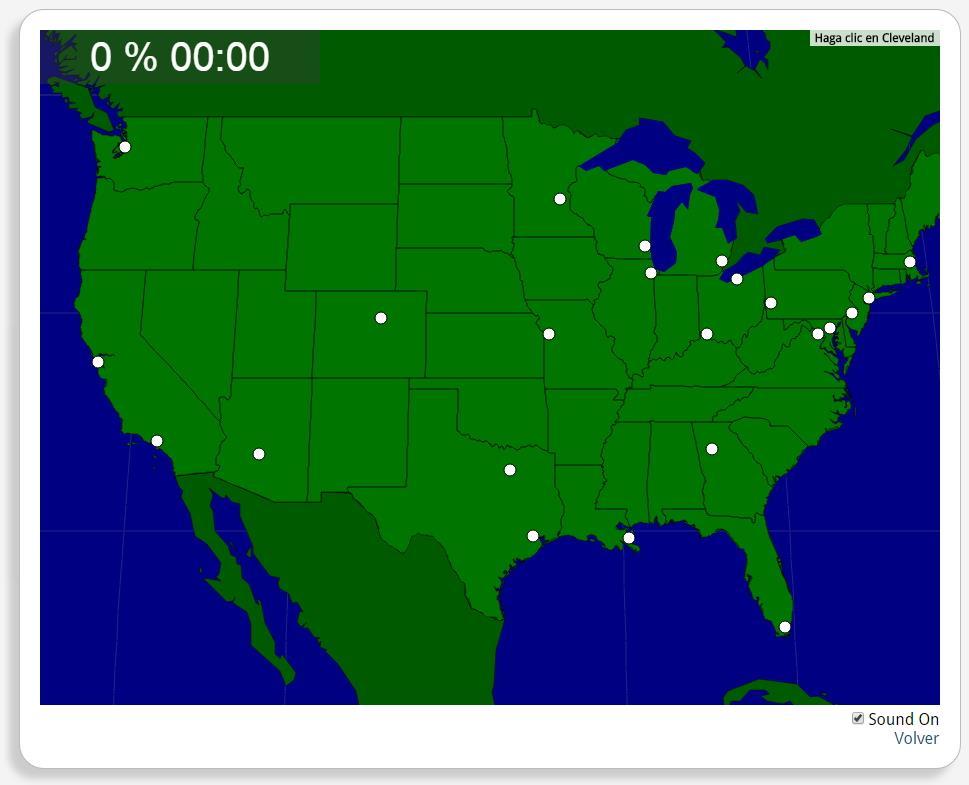 USA: Grandi città. Seterra