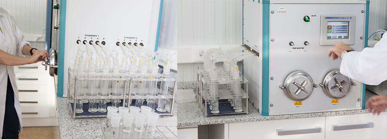 Garnica has a R&D lab