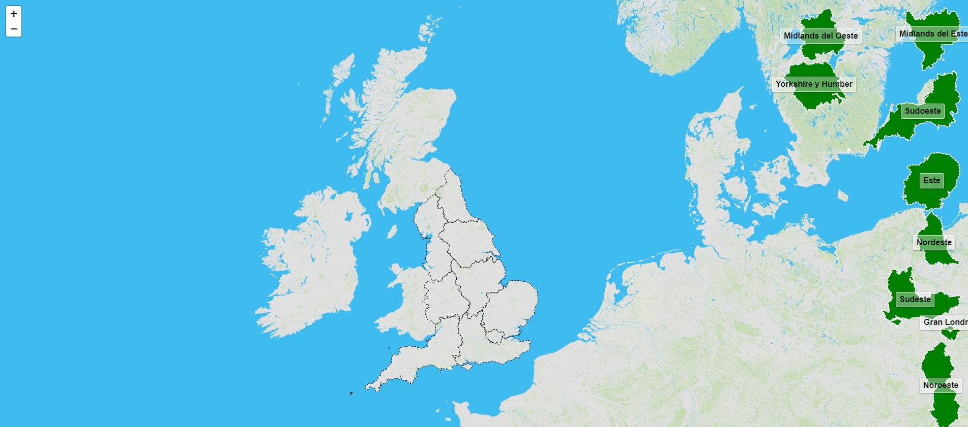 Regiones de Inglaterra