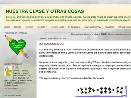 NUESTRA CLASE Y OTRAS COSAS