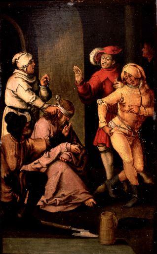 La Coronación de espinas y los escarnios
