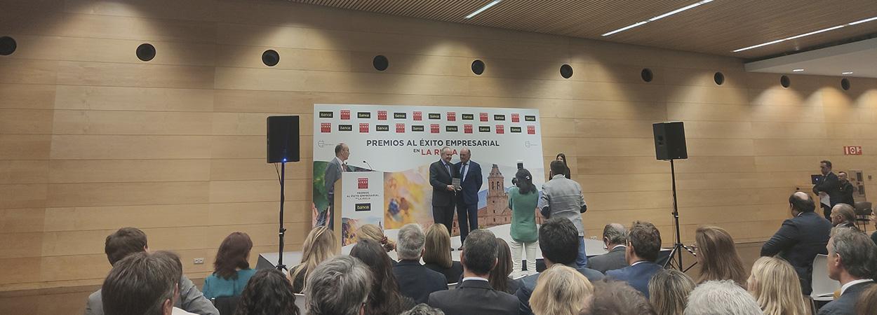 Pedro Garnica, mejor empresario de La Rioja en 2019 por Actualidad Económica