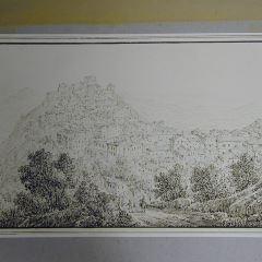 Vista de Arpino (Italia)