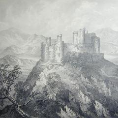 Castillo de Harlech (?), Gales