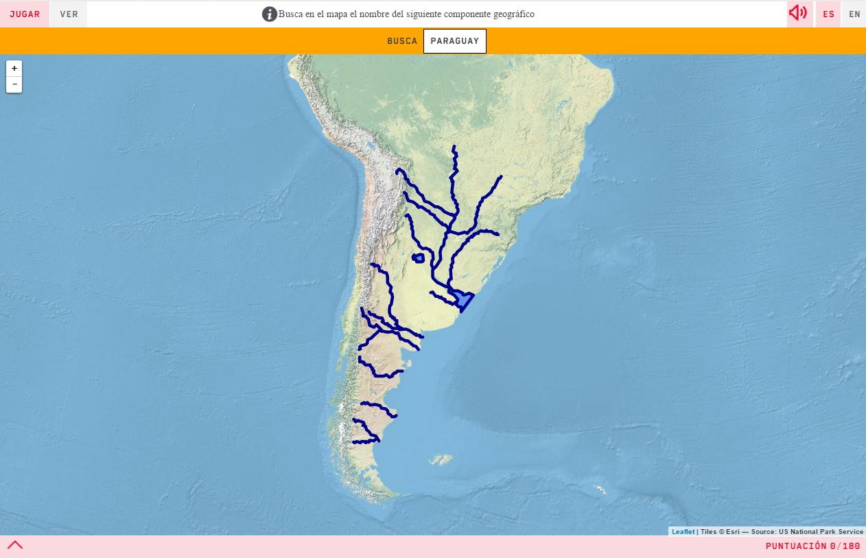 Ríos da Arxentina