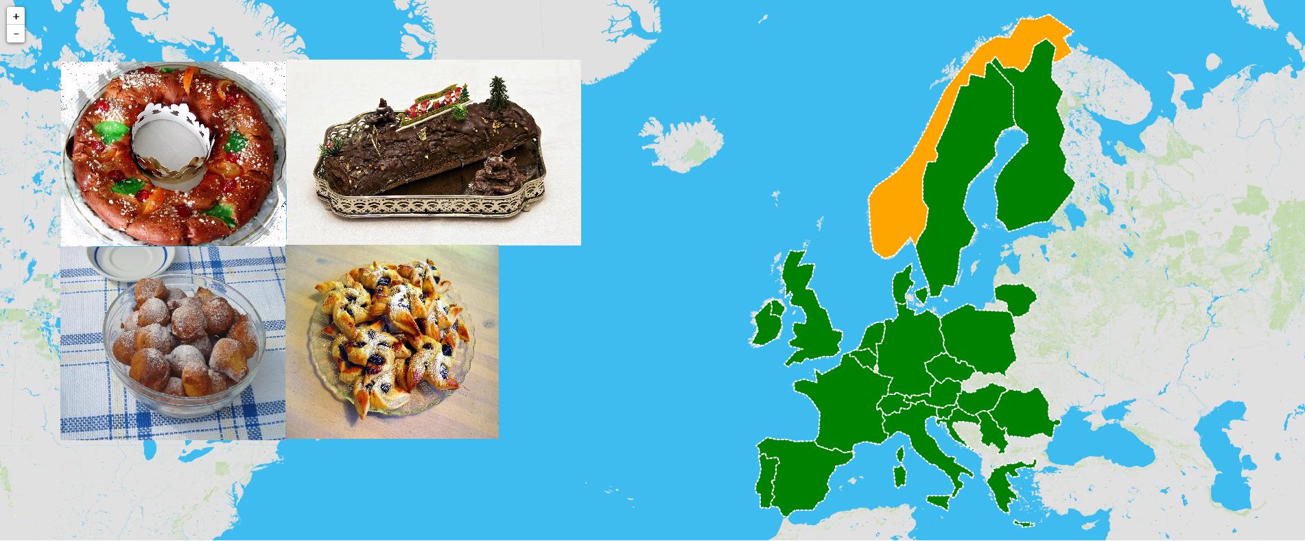 Sobremesas de Natal da Europa
